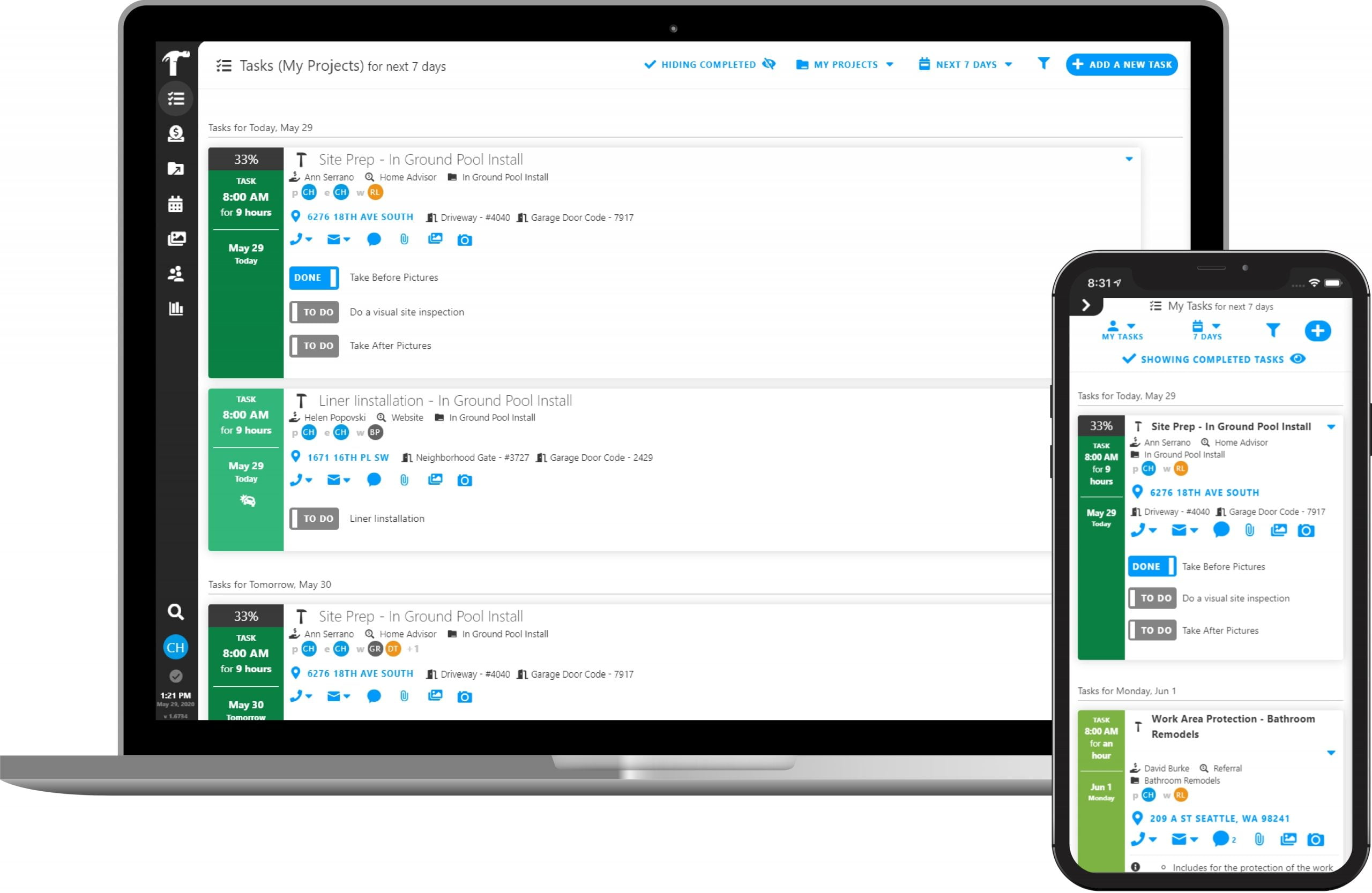 To Do Task Management with Projul