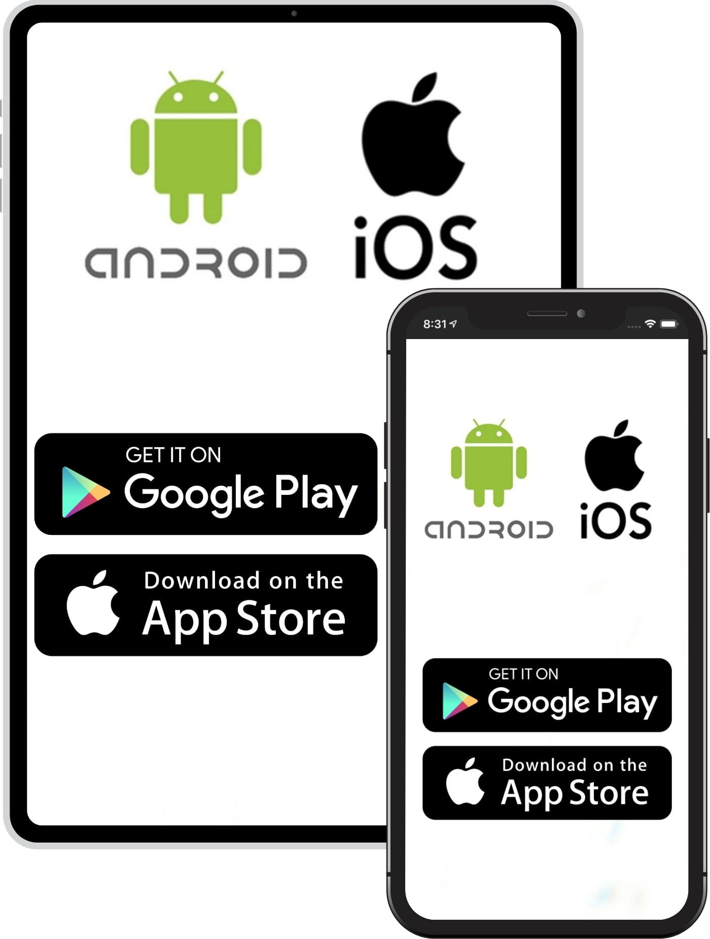 Android and iOS Apps in Projul