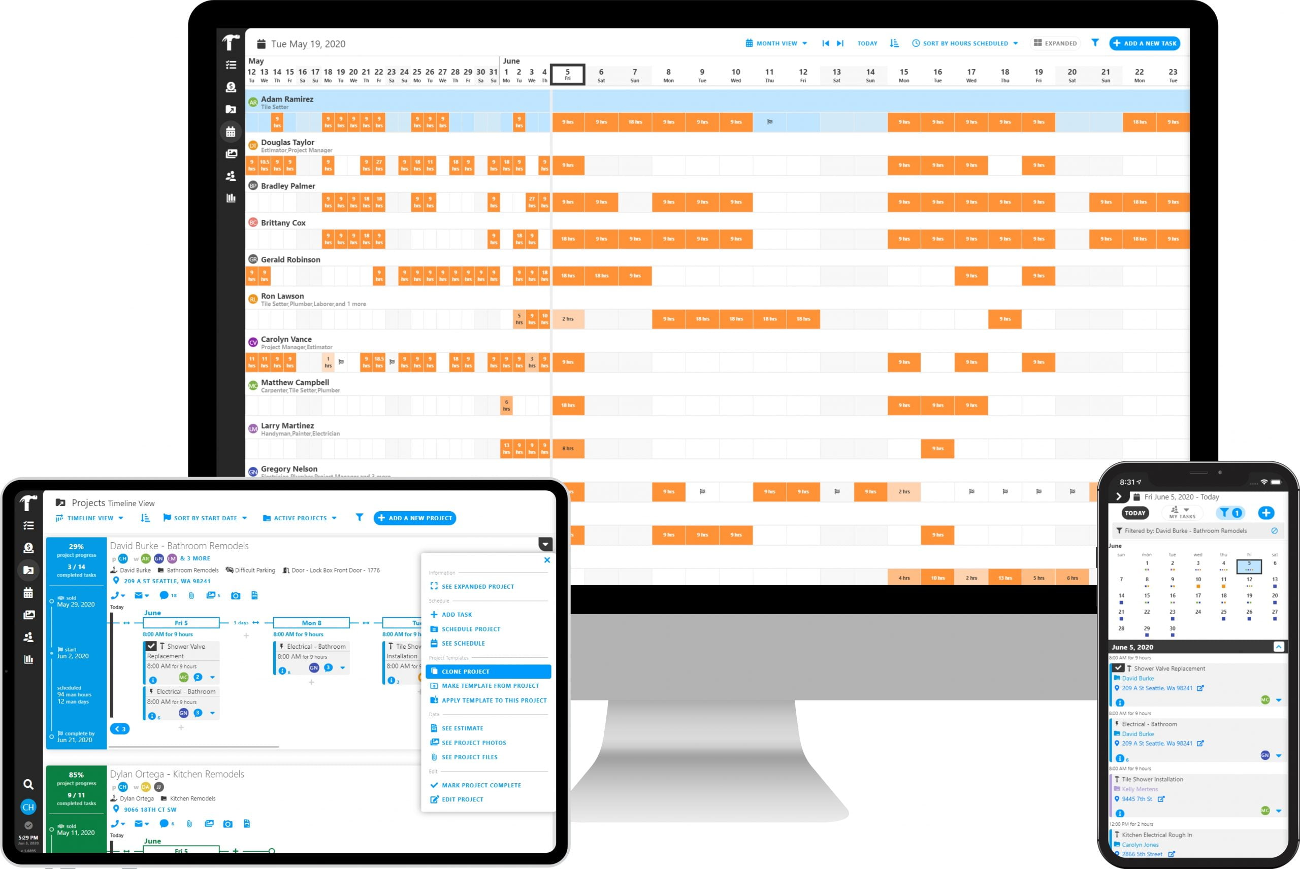 Powerful Construction Scheduling with Projul