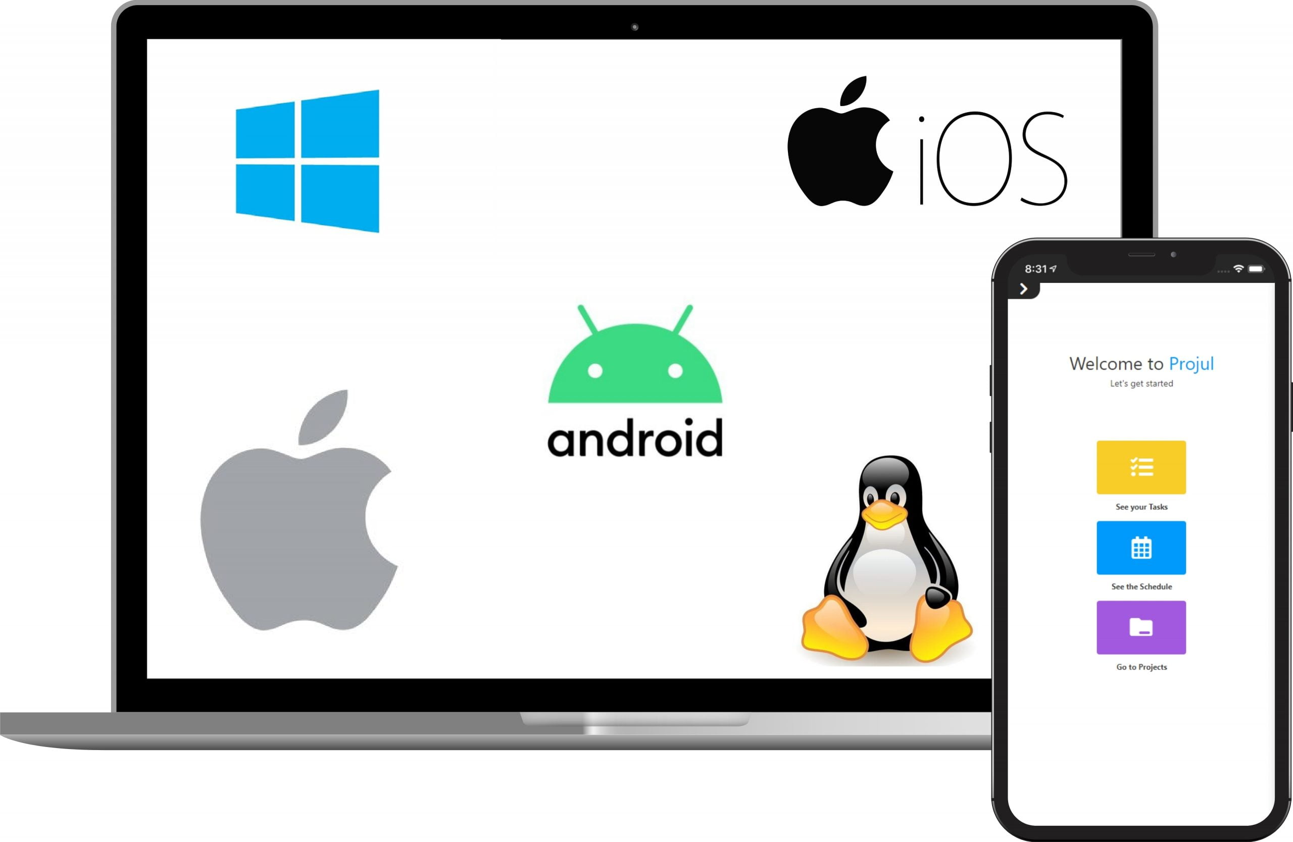 iOS and Android Apps Multi Platform with Projul