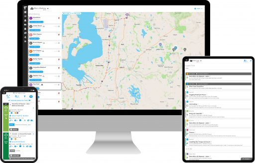 Time Tracking, Time Tracking, Geo-Fencing & Location Tracking with Projul