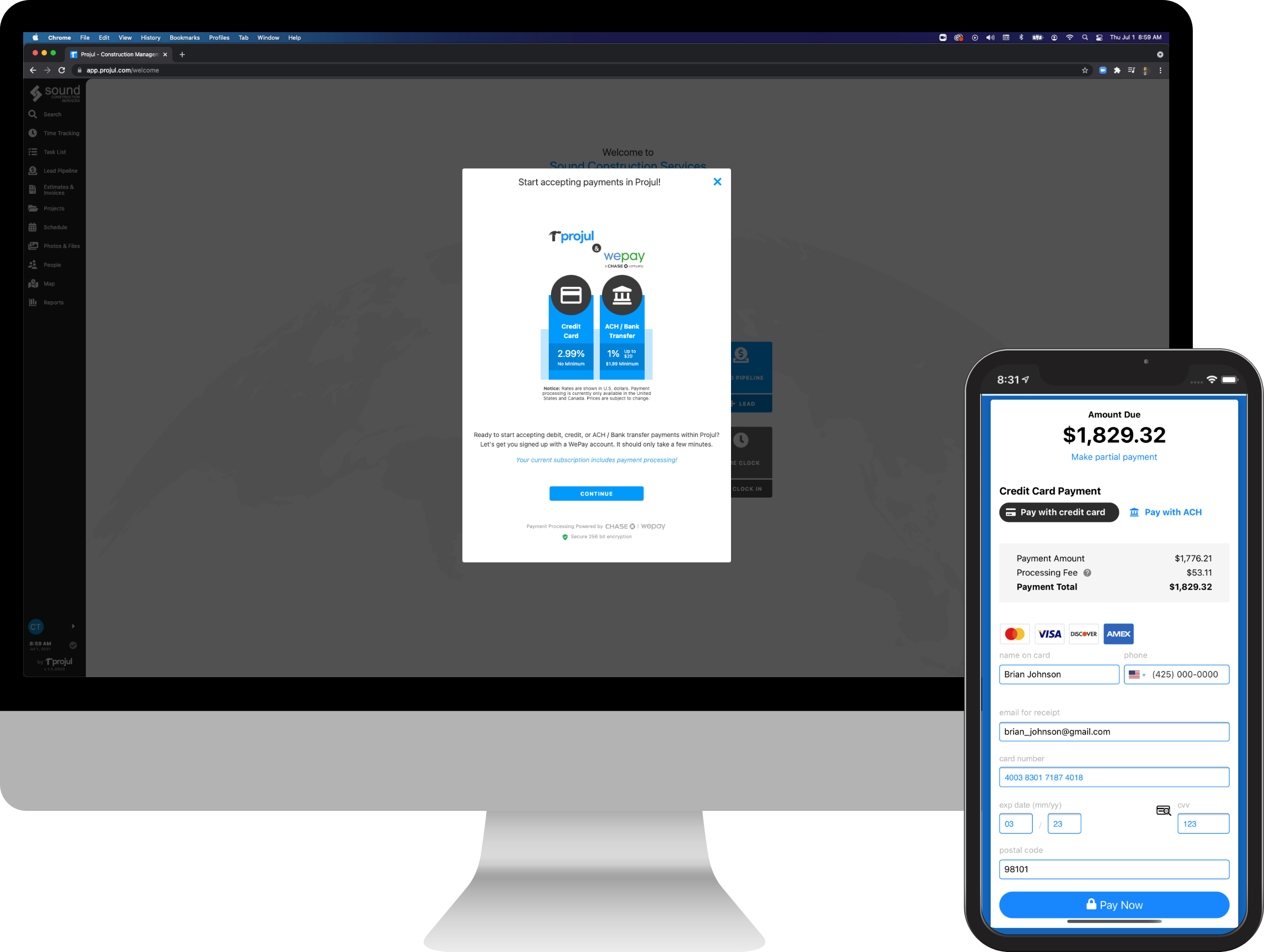 Payment Processing Examples